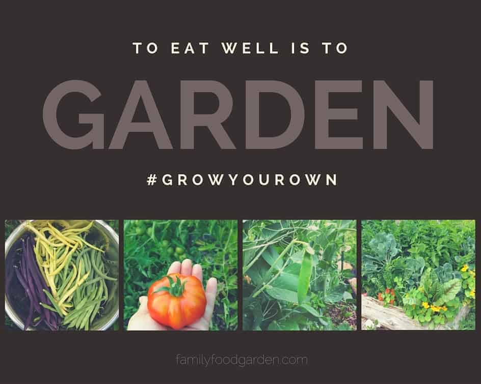 Grow your own food!