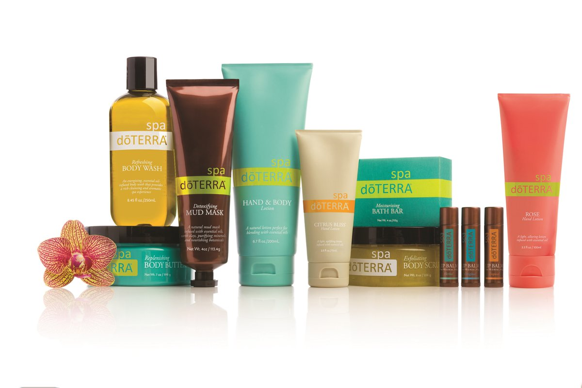 doterra-spa-product-line