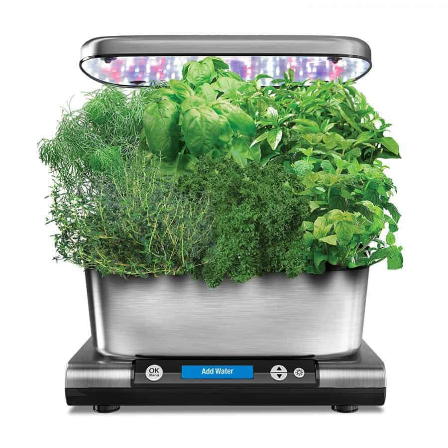 Indoor herb garden kits a great gardener gift family for Indoor gardening kit