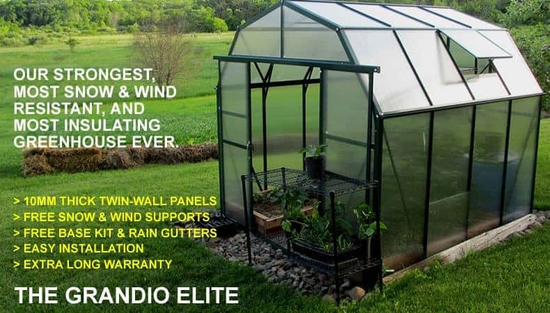 Snow and windproof greenhouse
